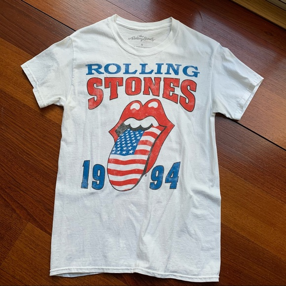 Urban Outfitters Rolling Stones Band Tee